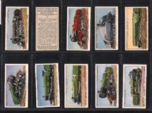 Collectible Tobacco cards cigarette cards Railway Engines 1936